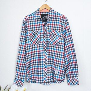Something Strong Check Flannel Shirt